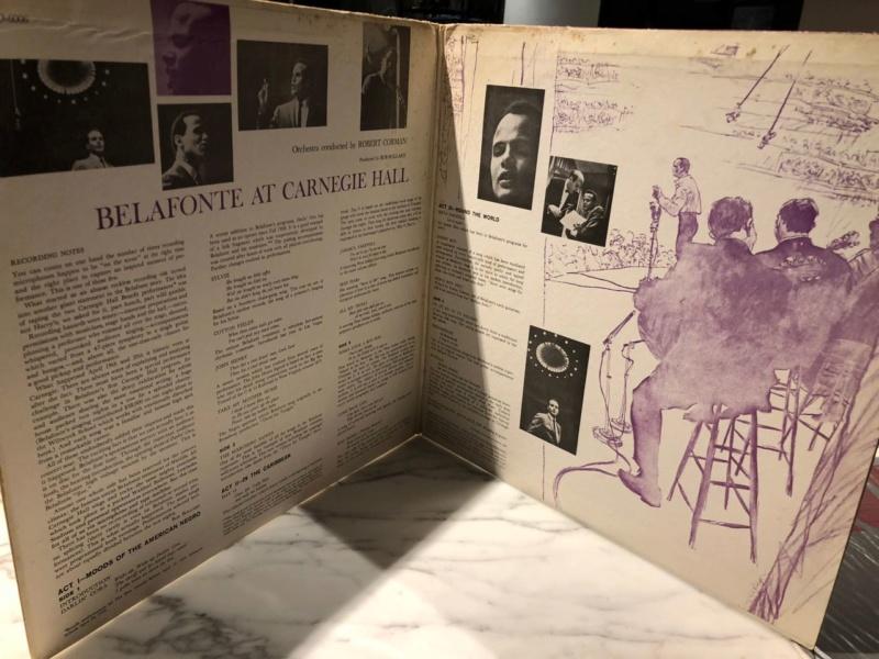 Harry Belafonte Live at Carnegie Hall 2LP (Sold) Img_7111