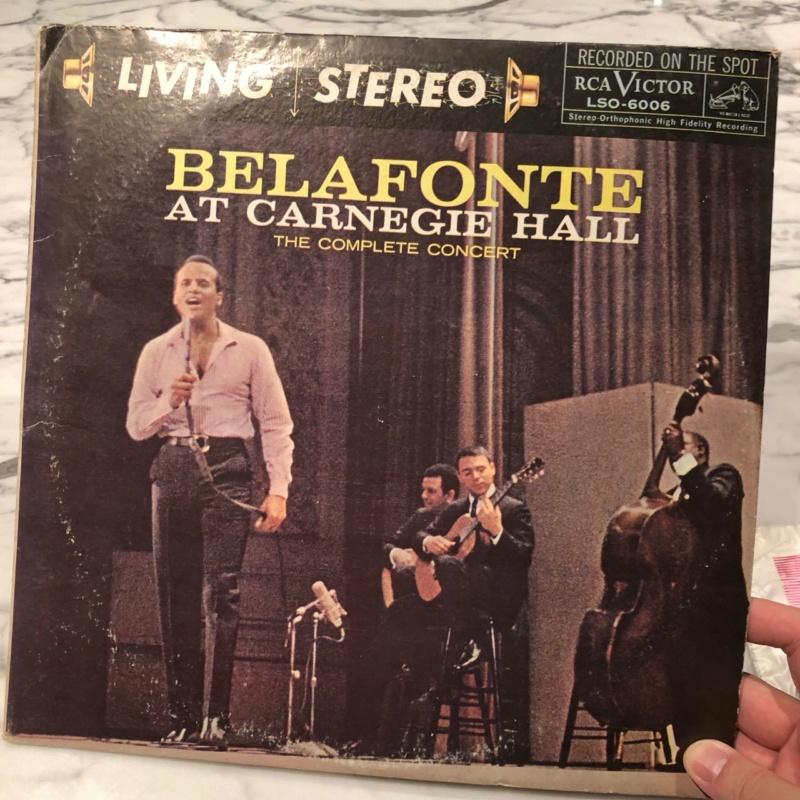 Harry Belafonte Live at Carnegie Hall 2LP (Sold) Img_7113