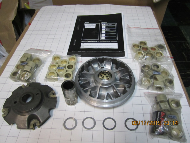Dr Pulley High Performance Variator Kit For Sale 00610