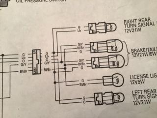 Rear turn signal / marker lights ? 96213210