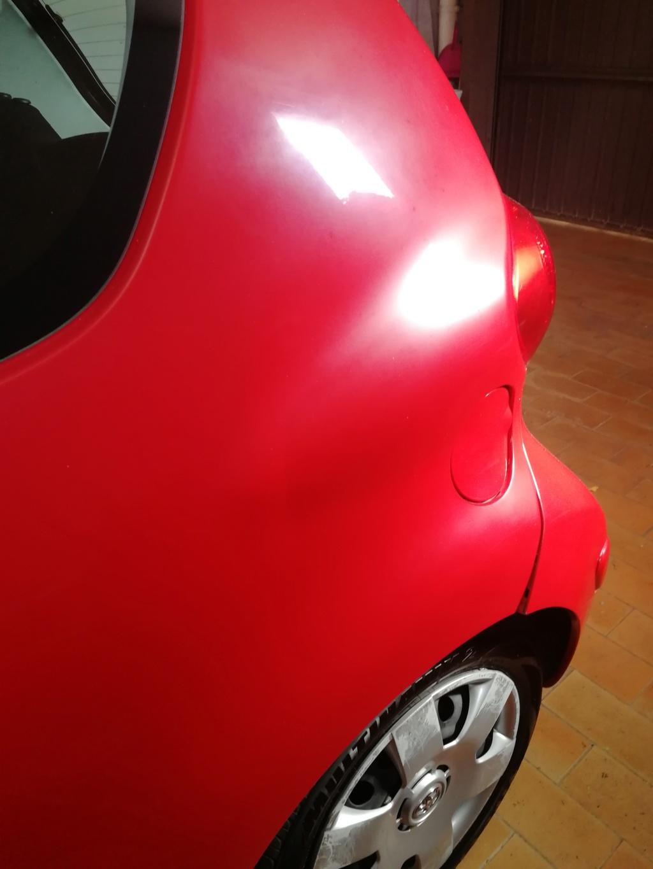 Vernice sbiadita opacizzata rosso pastello Img_2025