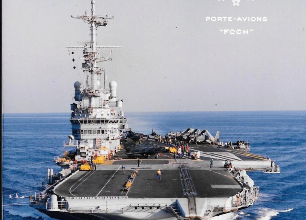 Porte-avions CLEMENCEAU - 1/400ème base Heller + scratch + PE Foch10