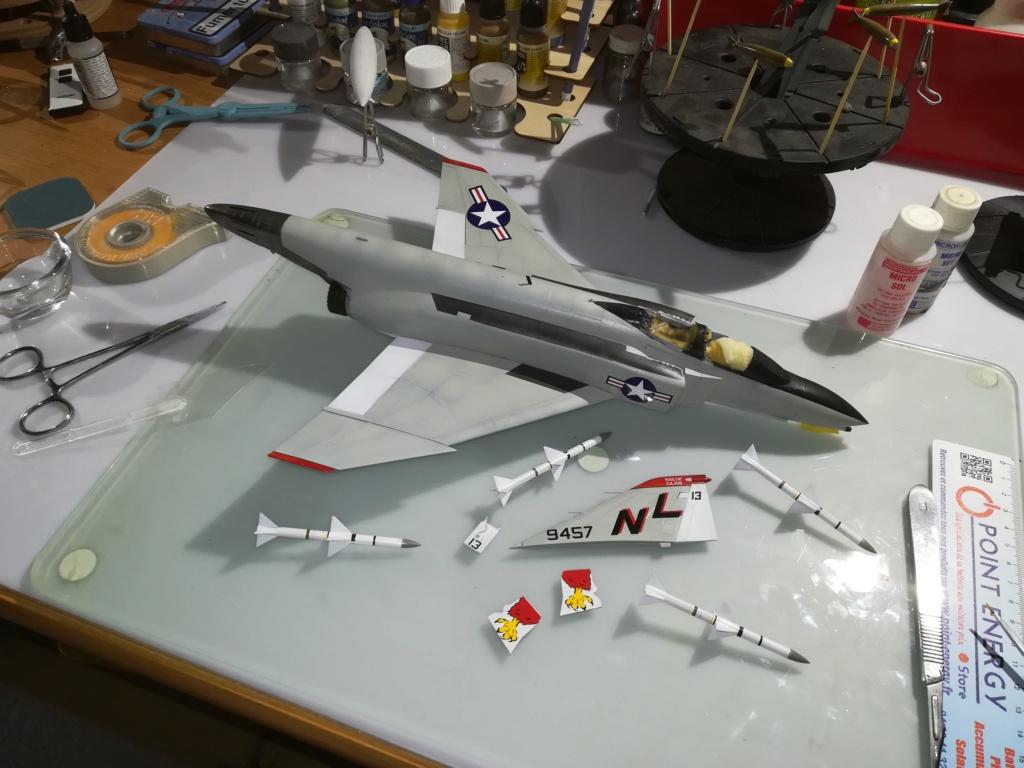 F-4 B Phantom 1/48° - VF-51 - 1972 - Début de patine. - Page 4 Img_2038