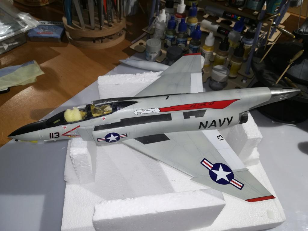 F-4 B Phantom 1/48° - VF-51 - 1972 - Début de patine. - Page 4 Img_2041