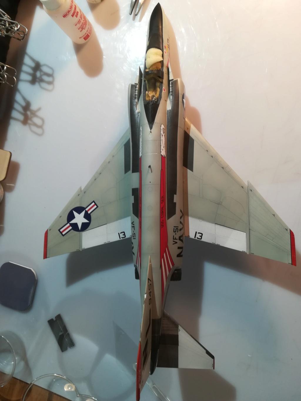 F-4 B Phantom 1/48° - VF-51 - 1972 - Début de patine. - Page 4 Img_2076