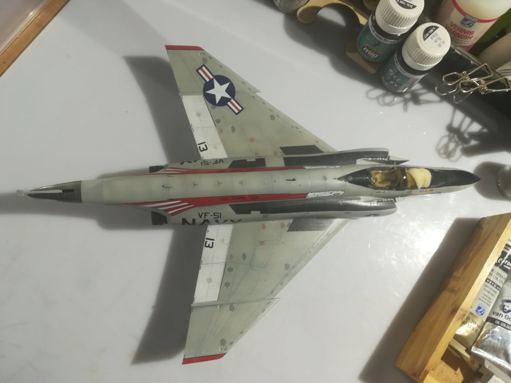 F-4 B Phantom 1/48° - VF-51 - 1972 - Début de patine. - Page 5 Img_2272