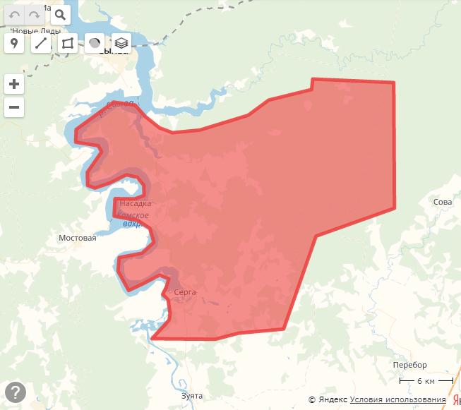 Новая топонимика Земли Сылвы и её новые административные деления Eziia10