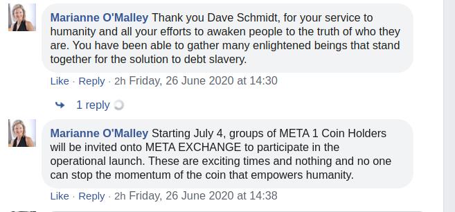 Dave Schmidt in prison - Meta 1 team morons DENY it on Facebook Omalle10