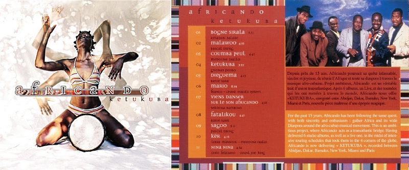 Jazz afro-cubain & musiques latines - Playlist - Page 2 Africa10