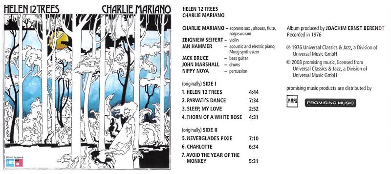 """Le """"jazz-rock"""" au sens large (des années 60 à nos jours) - Page 2 Charli14"""