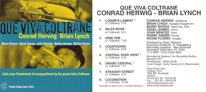 Jazz afro-cubain & musiques latines - Playlist - Page 2 Conrad11