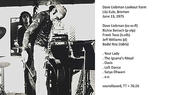 """Le """"jazz-rock"""" au sens large (des années 60 à nos jours) - Page 17 Dave_l13"""