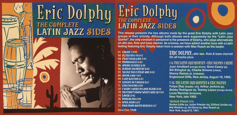 Jazz afro-cubain & musiques latinos - Playlist - Page 2 Dolphy12