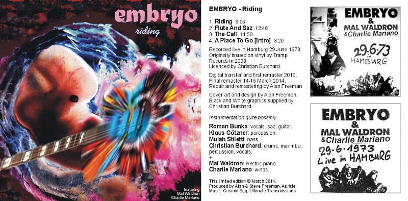 [Rock Progressif] Playlist - Page 12 Embryo12