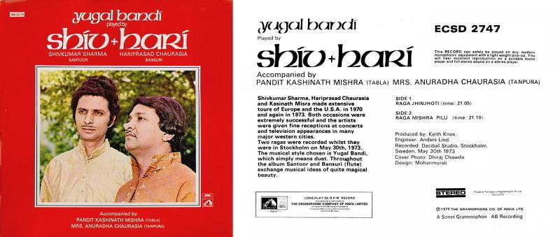 Musiques traditionnelles : Playlist - Page 18 Haripr11