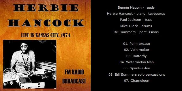 """Le """"jazz-rock"""" au sens large (des années 60 à nos jours) - Page 14 Herbie12"""