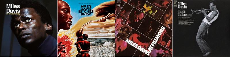 """Le """"jazz-rock"""" au sens large (des années 60 à nos jours) Miles-10"""