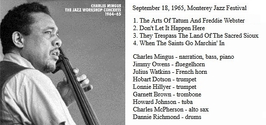 [Jazz] Playlist - Page 9 Mingus16