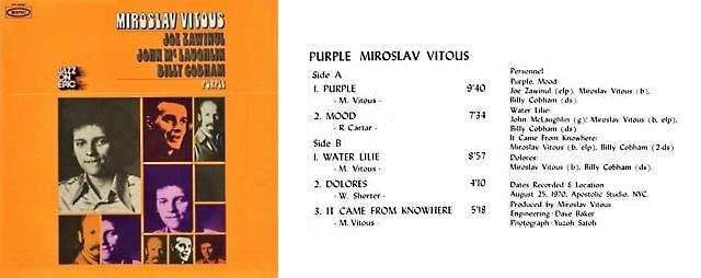 """Le """"jazz-rock"""" au sens large (des années 60 à nos jours) - Page 6 Mirosl10"""