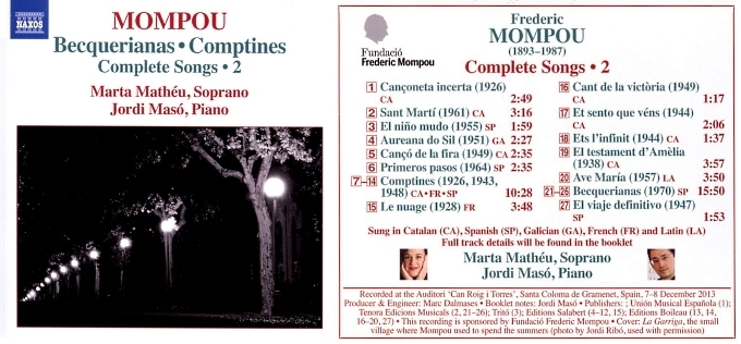 Playlist (135) Mompou10