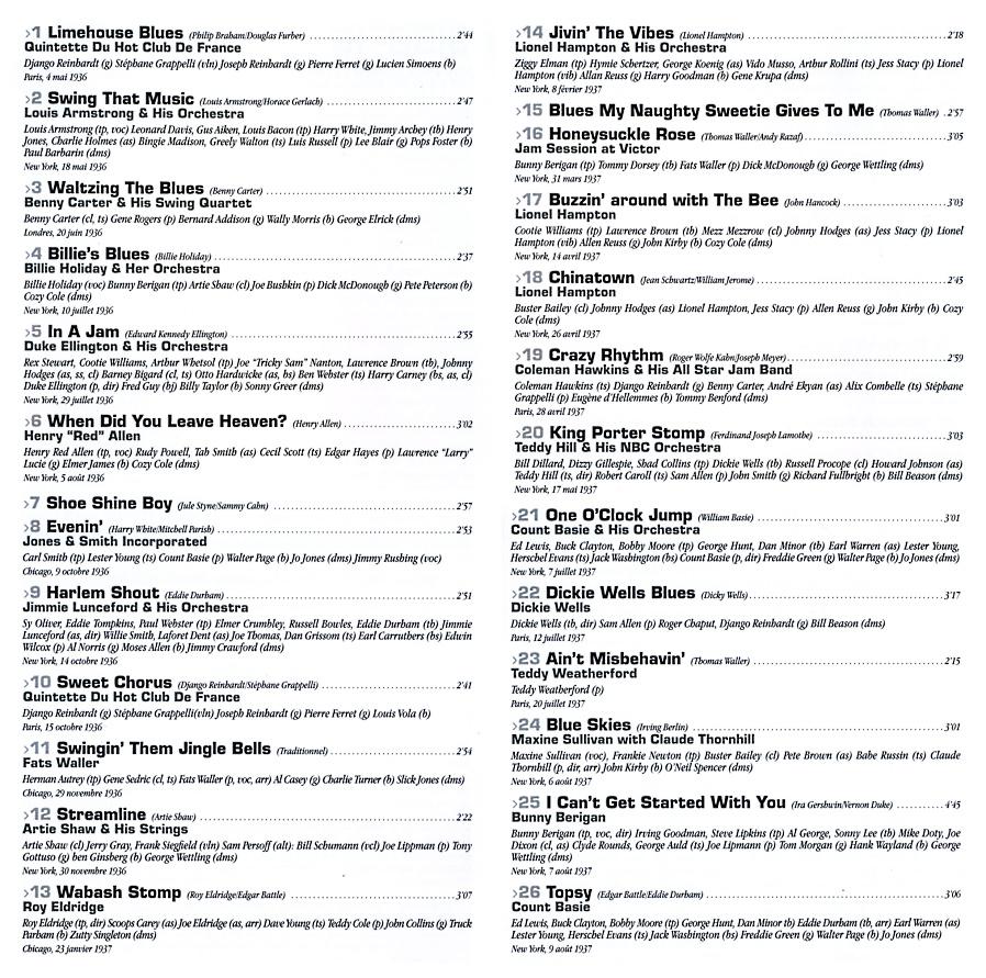 [Jazz] Playlist Vol_1010