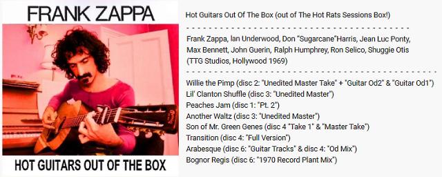 """Le """"jazz-rock"""" au sens large (des années 60 à nos jours) - Page 3 Zappa_10"""