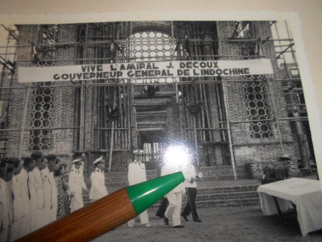 3 albums photos 1942 /43 resident supeieur au tonkin sous vichy Dscn6821