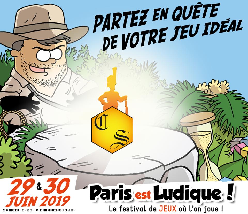 """""""Paris est ludique"""" 29-30 juin 20169 avec le Cercle de Stratégie 56395110"""