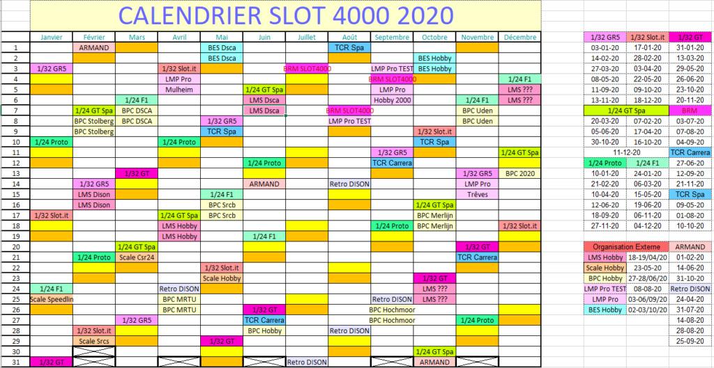 Calendrier et règlements 2020 Captur19