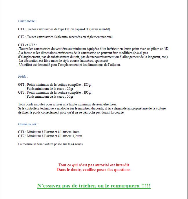 Calendrier et règlements 2020 Captur36