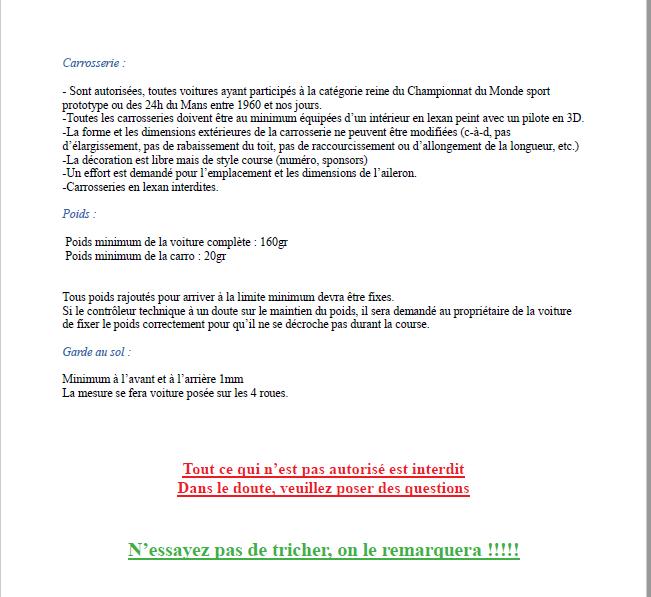Calendrier et règlements 2020 Captur38