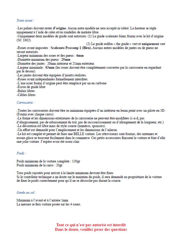 Règlement particulier TCR Captur41