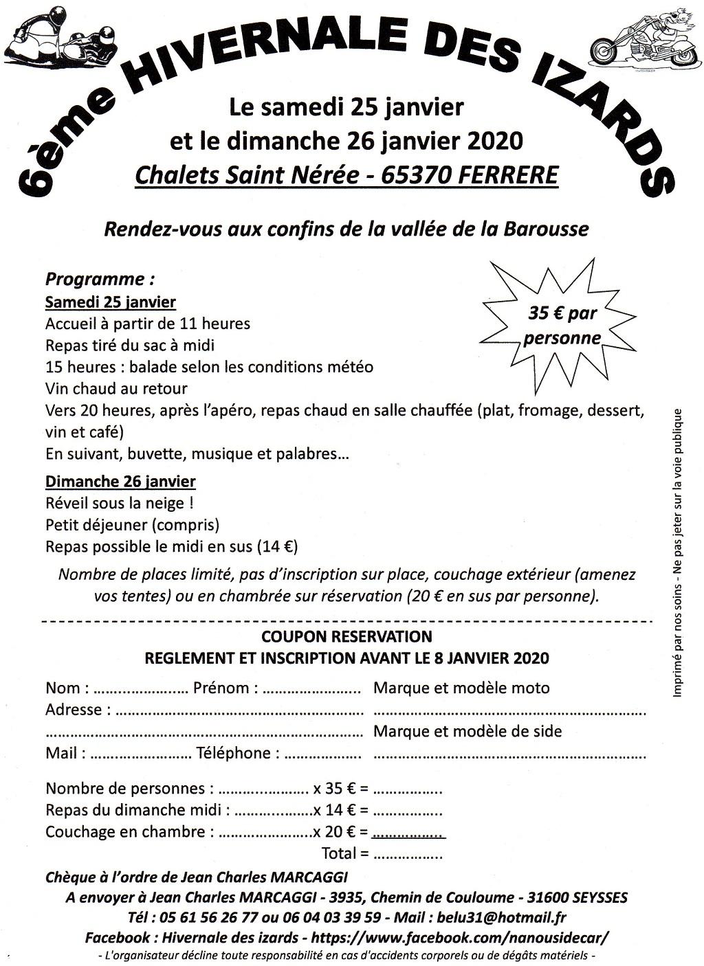 """hivernal """" les izards 25/26 janvier 2020""""  Bullet10"""