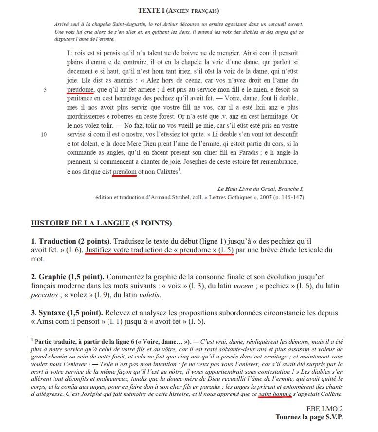 [Lettres et Lettres classiques] Le rapport 2018 du jury du CAPES Lettres modernes est publié Capesl10