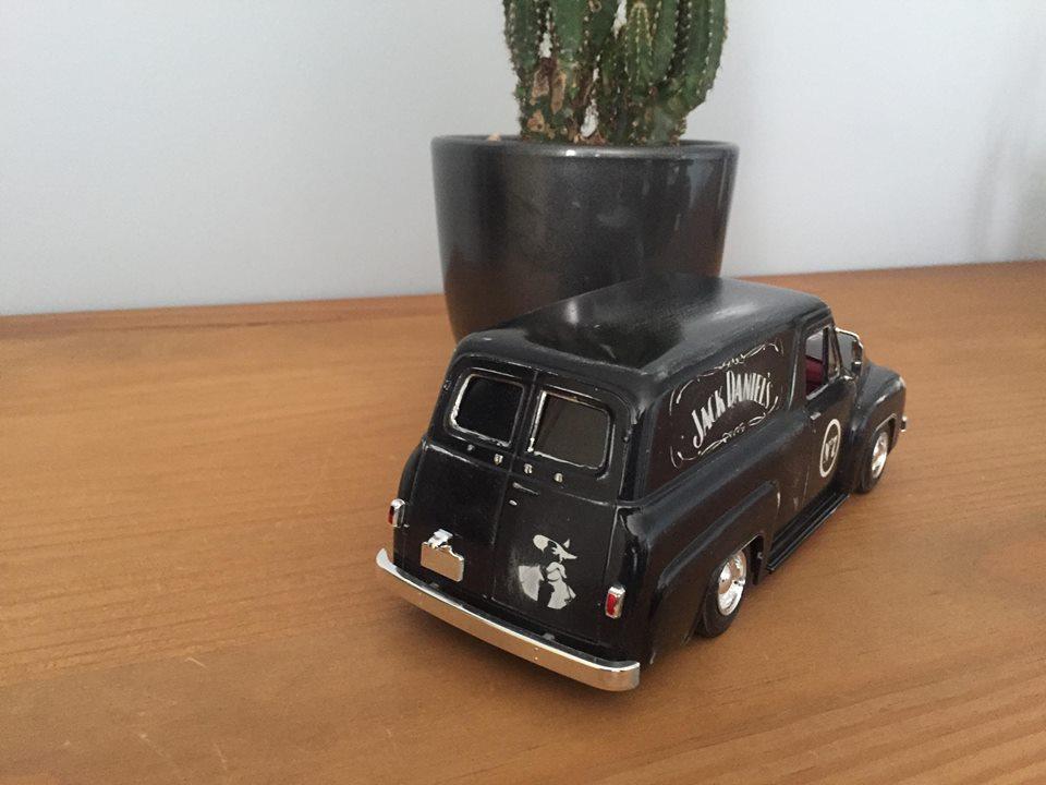 ford f100 panel truck jack daniel's patina et verni 39992210