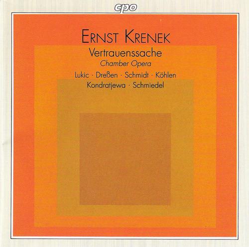 Ernst Krenek: What Price Confidence Vertra13