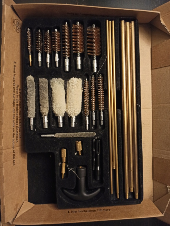 Recherche kit de nettoyage multi calibres 16301711