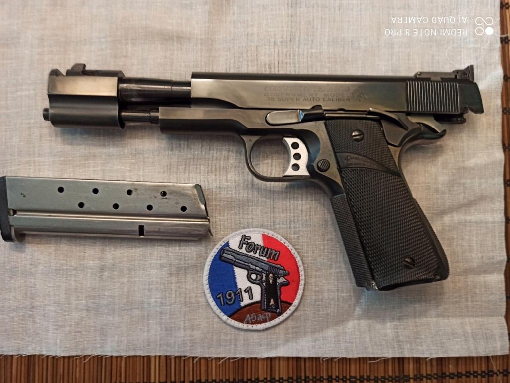 Nouveau dans mon coffre Colt 1991 .38SA 1911_327