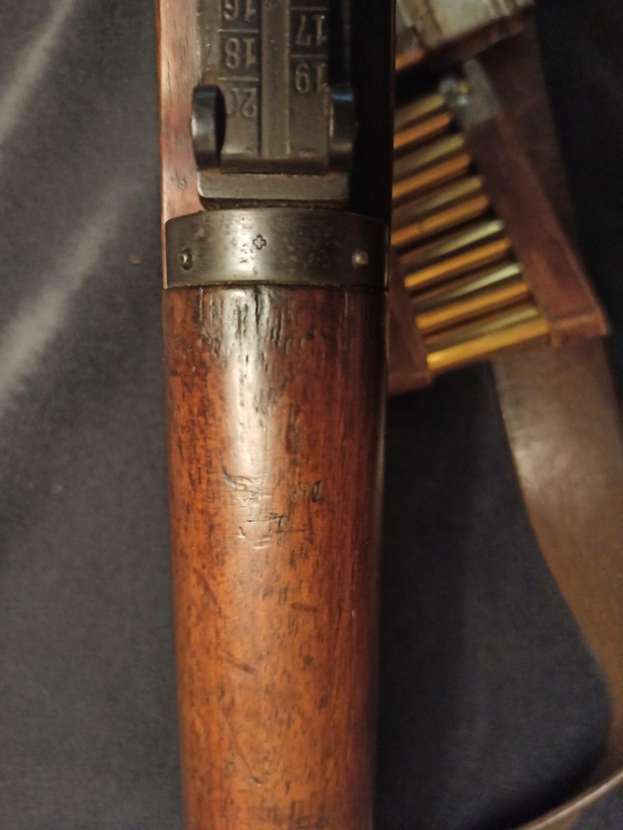 un fusil d'infanterie Model 1896/11 96110013