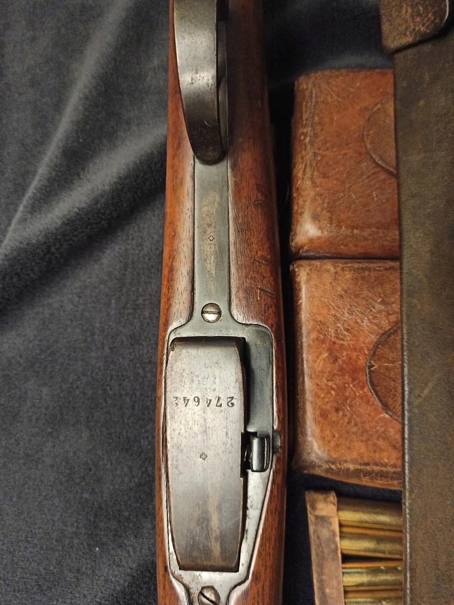 un fusil d'infanterie Model 1896/11 96110015