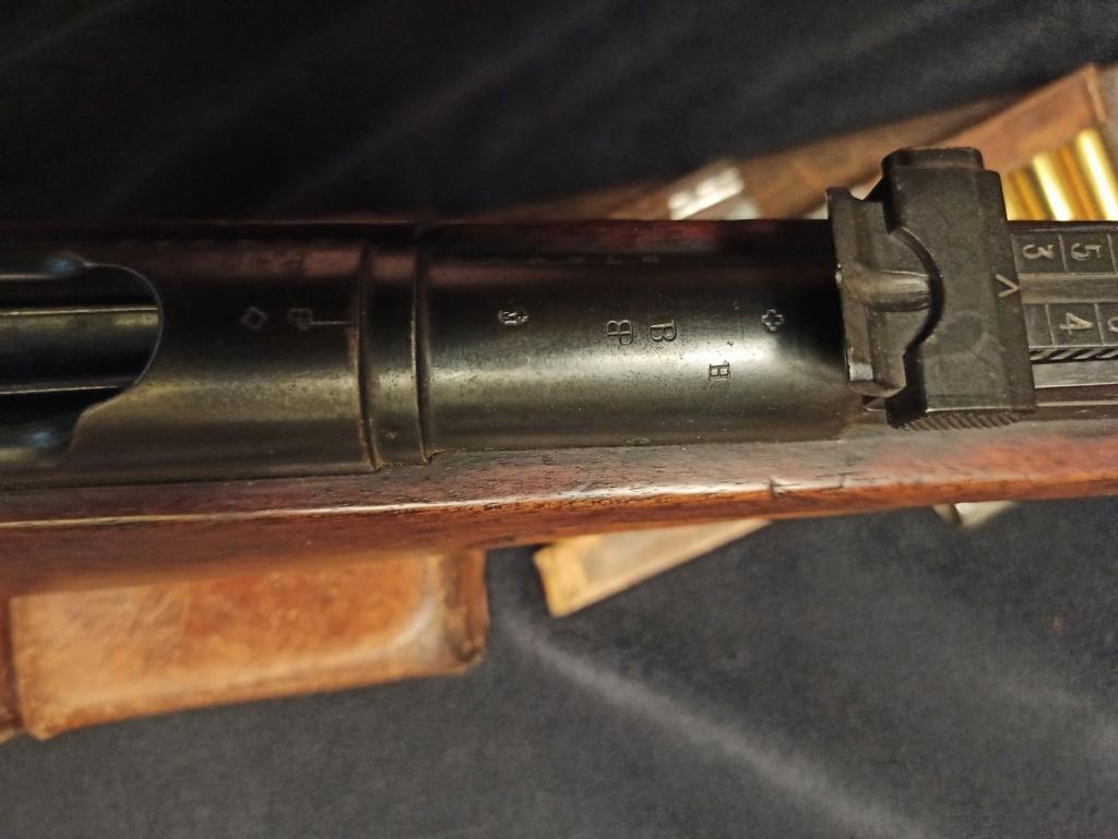 un fusil d'infanterie Model 1896/11 96110017