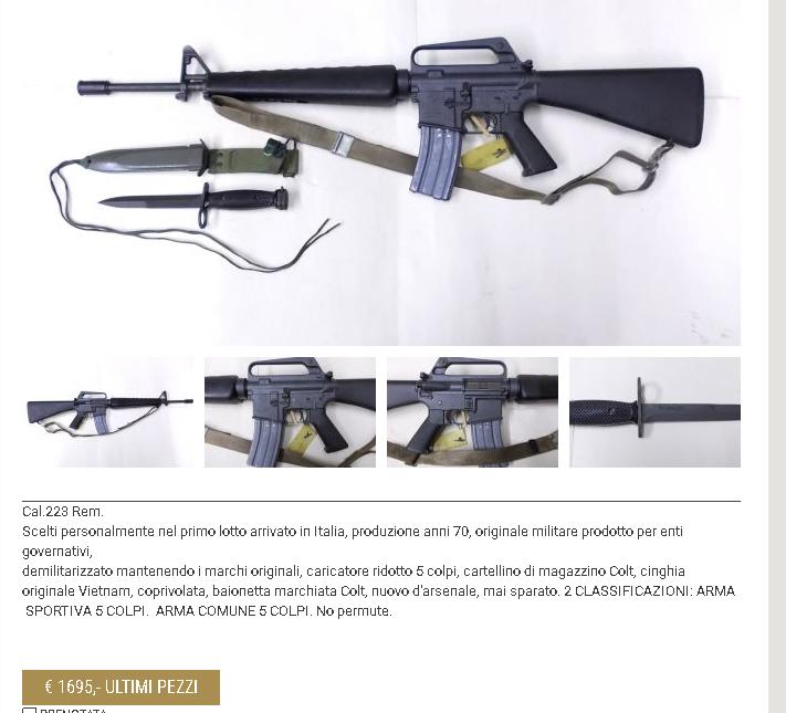 Question Colt AR15 A2 A110