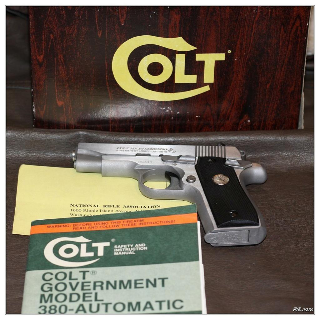 Pourquoi plusieurs références utilisées pour le 9mm ? Colt3839