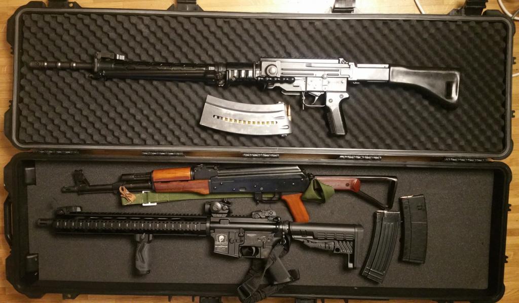 Fusils d'assauts Fa12