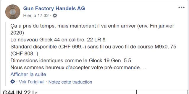 Du nouveau chez GLOCK G4411