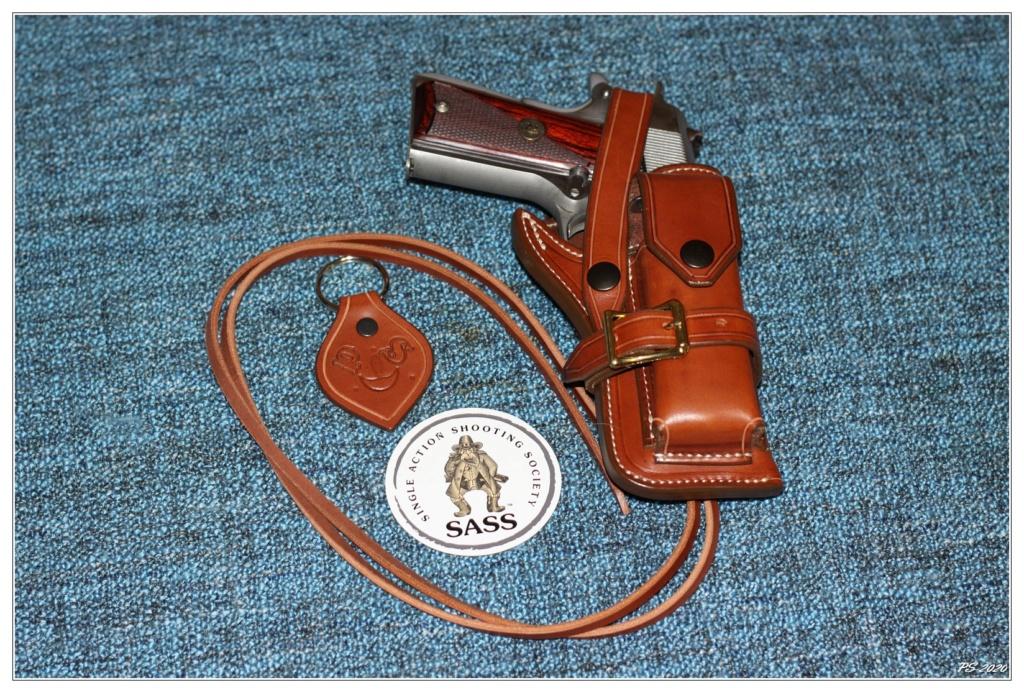 Habillage cuir pour mon Springfeld Armory Img_6711