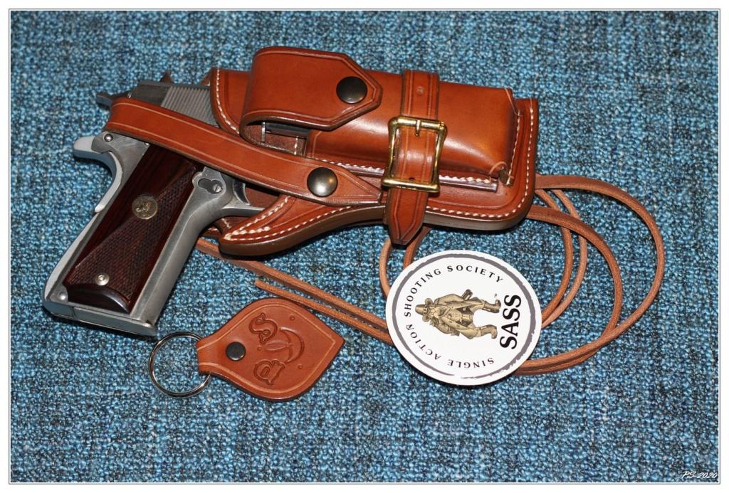 Habillage cuir pour mon Springfeld Armory Img_6712