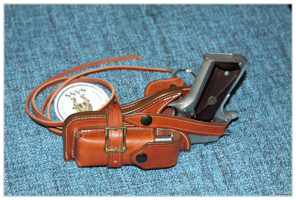 Habillage cuir pour mon Springfeld Armory Img_6714