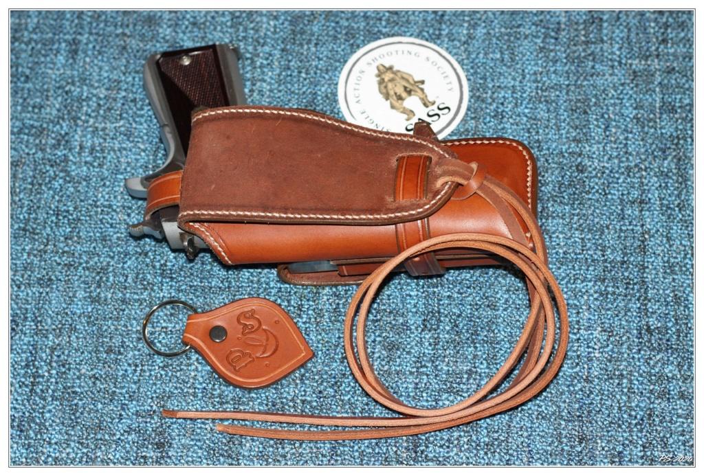 Habillage cuir pour mon Springfeld Armory Img_6715