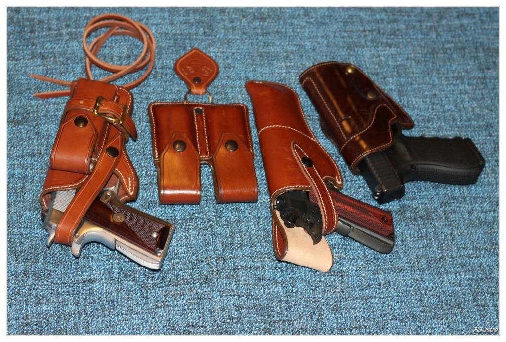 Habillage cuir pour mon Springfeld Armory Img_6720